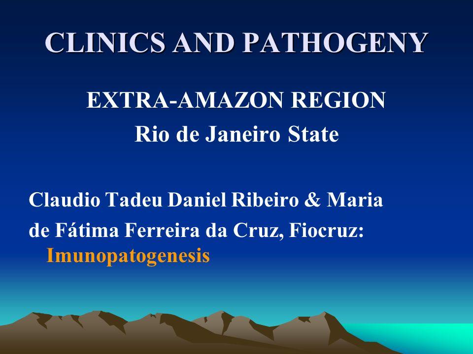 CLINICS AND PATHOGENY EXTRA-AMAZON REGION Rio de Janeiro State