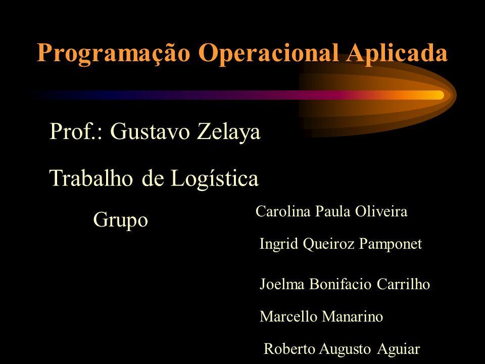 Programação Operacional Aplicada