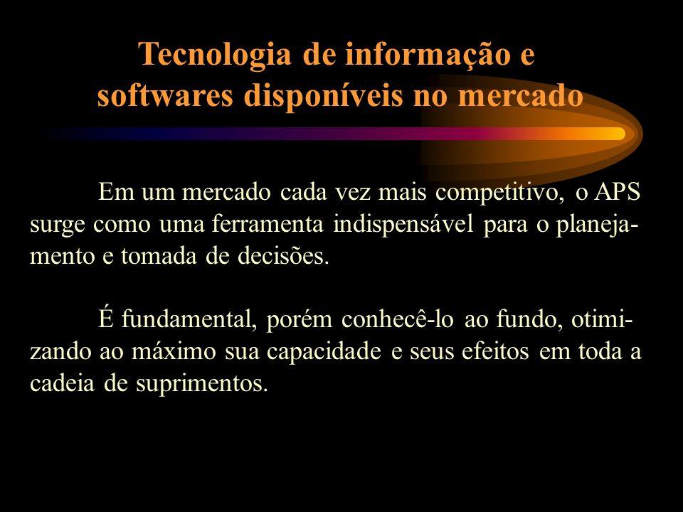 Tecnologia de informação e softwares disponíveis no mercado