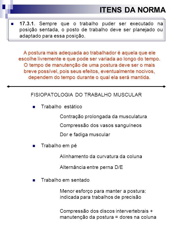 FISIOPATOLOGIA DO TRABALHO MUSCULAR