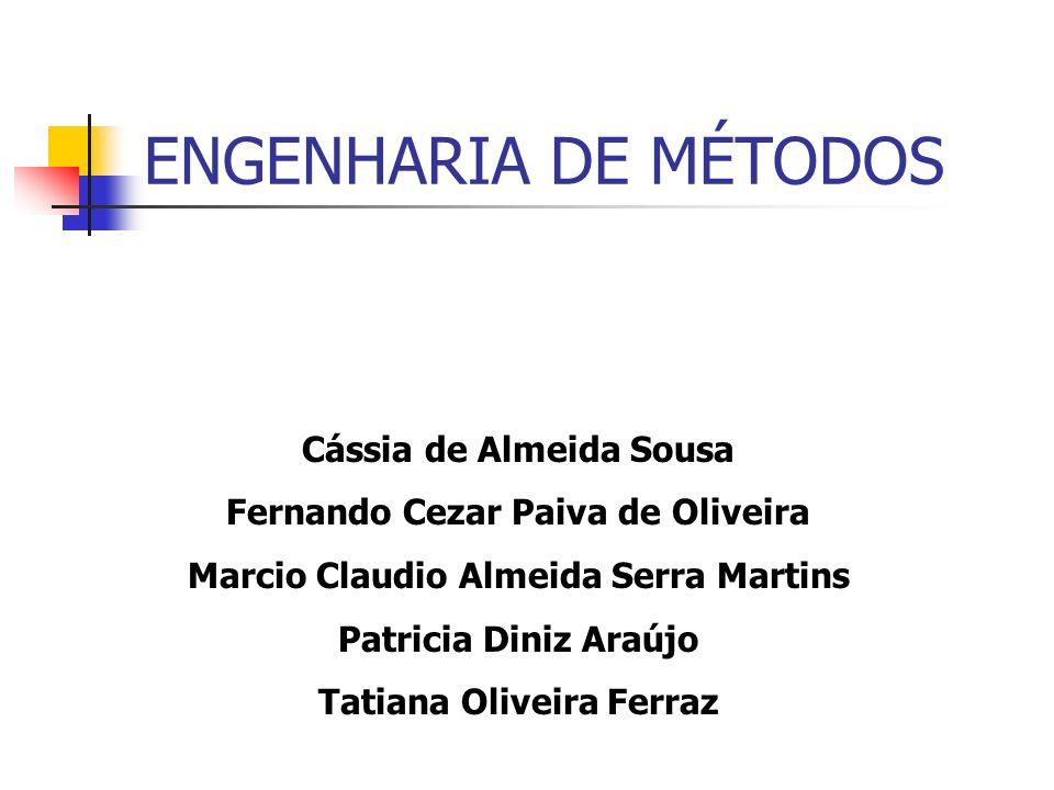 ENGENHARIA DE MÉTODOS Cássia de Almeida Sousa