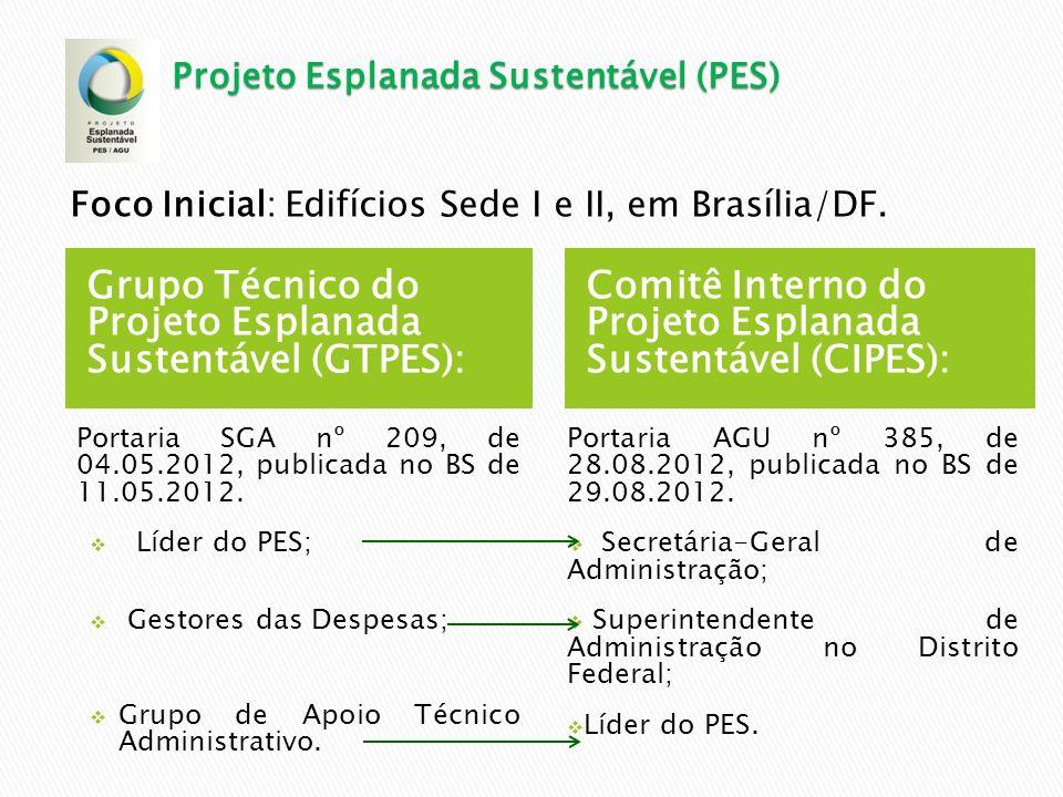Grupo Técnico do Projeto Esplanada Sustentável (GTPES):