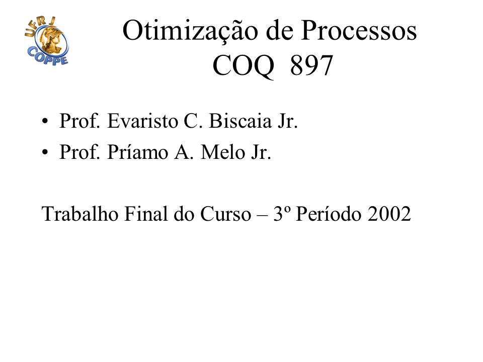 Otimização de Processos COQ 897