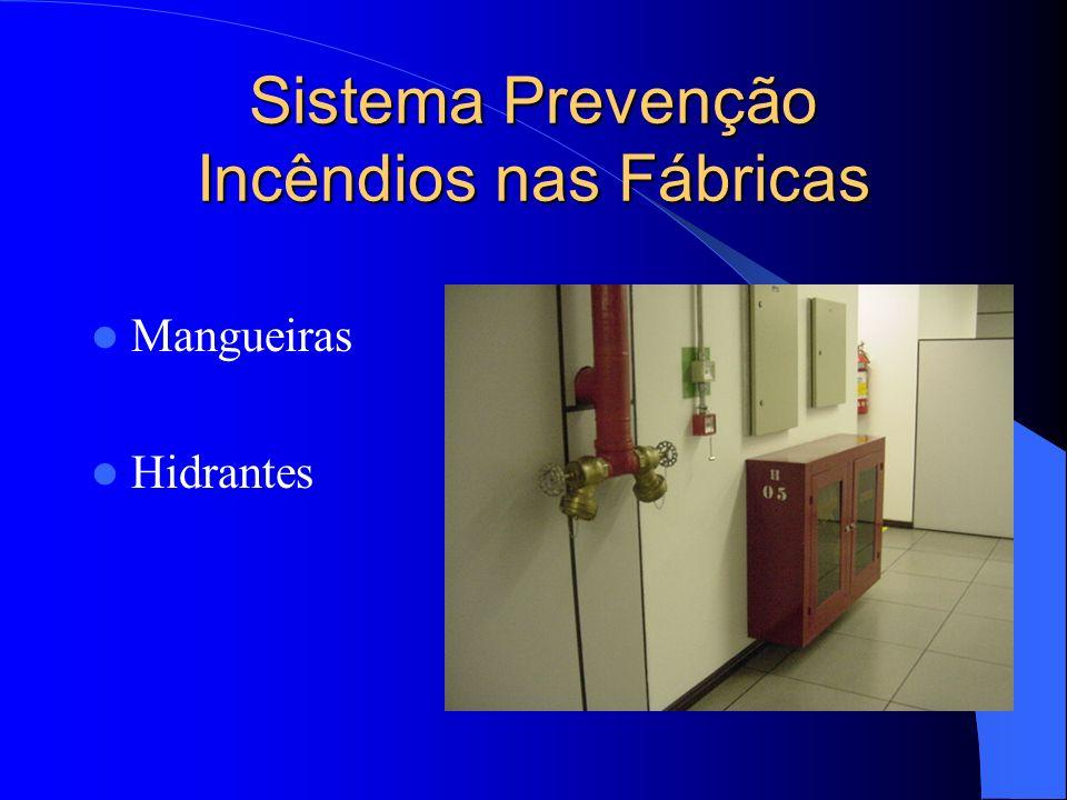 Sistema Prevenção Incêndios nas Fábricas