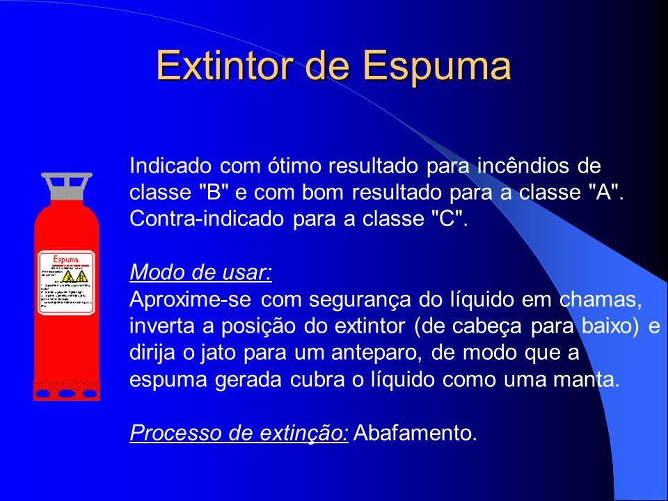 Extintor de Espuma