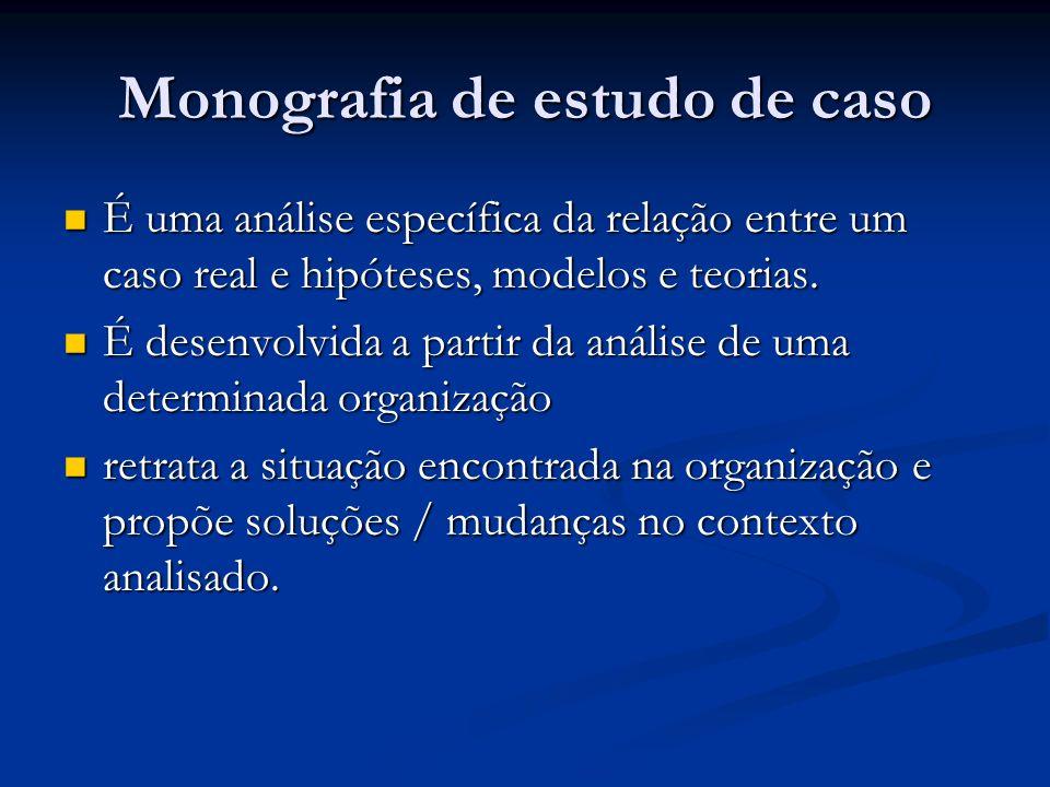 Monografia de estudo de caso