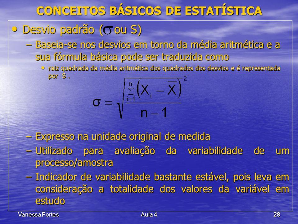CONCEITOS BÁSICOS DE ESTATÍSTICA