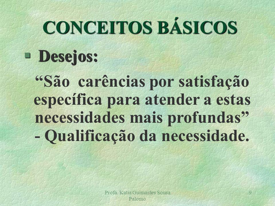 - Qualificação da necessidade.