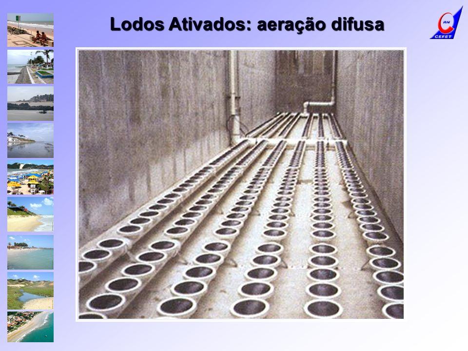Lodos Ativados: aeração difusa