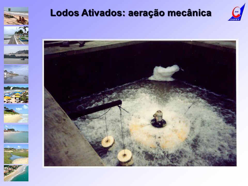 Lodos Ativados: aeração mecânica