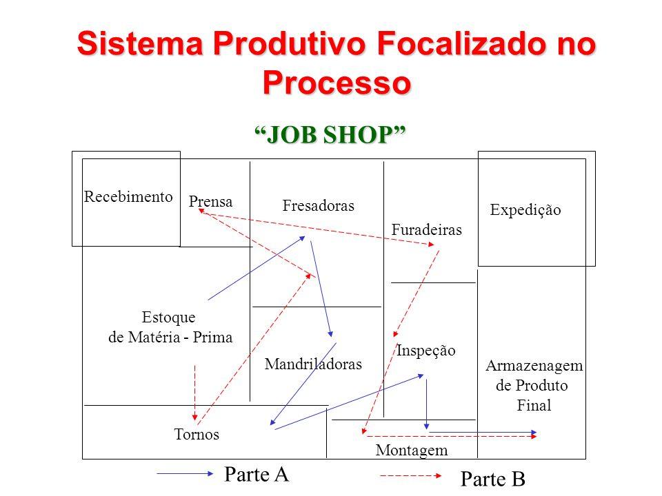 Sistema Produtivo Focalizado no Processo
