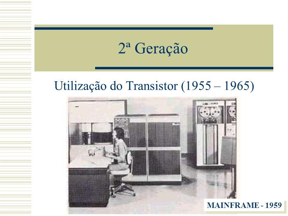 Utilização do Transistor (1955 – 1965)