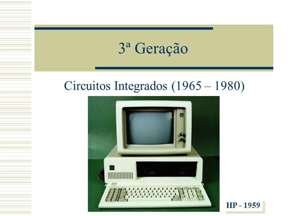 Circuitos Integrados (1965 – 1980)