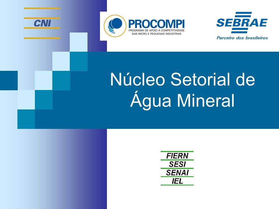Núcleo Setorial de Água Mineral