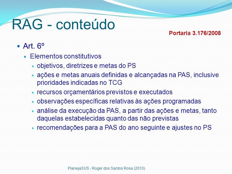 RAG - conteúdo Art. 6º Elementos constitutivos