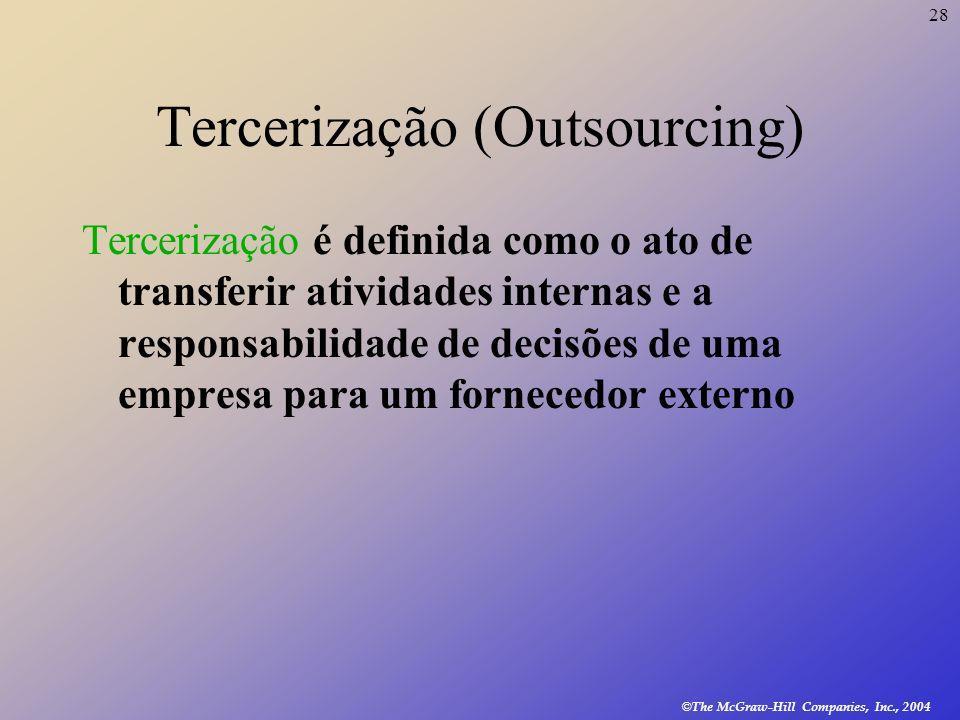 Tercerização (Outsourcing)