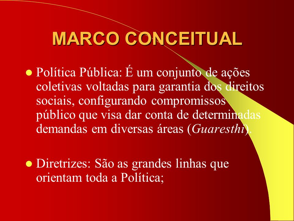 MARCO CONCEITUAL