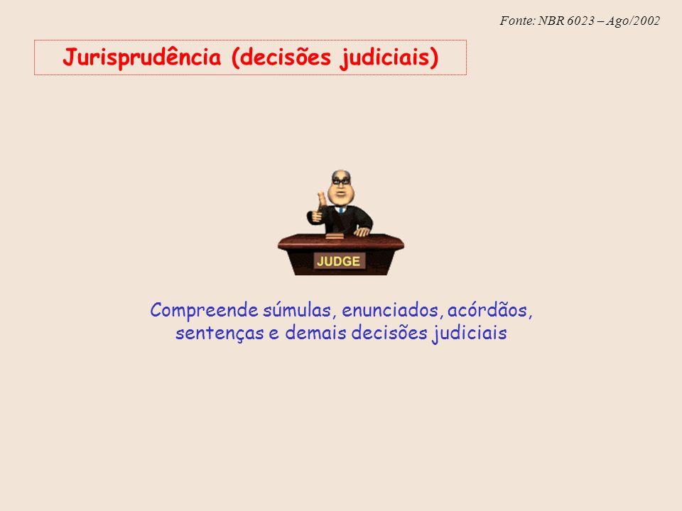 Jurisprudência (decisões judiciais)