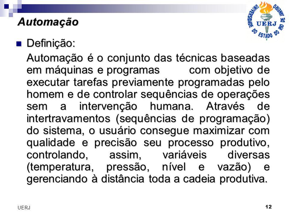 AutomaçãoDefinição:
