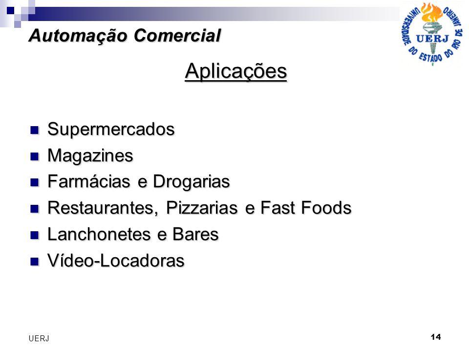 Aplicações Automação Comercial Supermercados Magazines