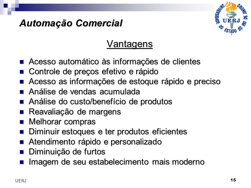 Automação Comercial Vantagens