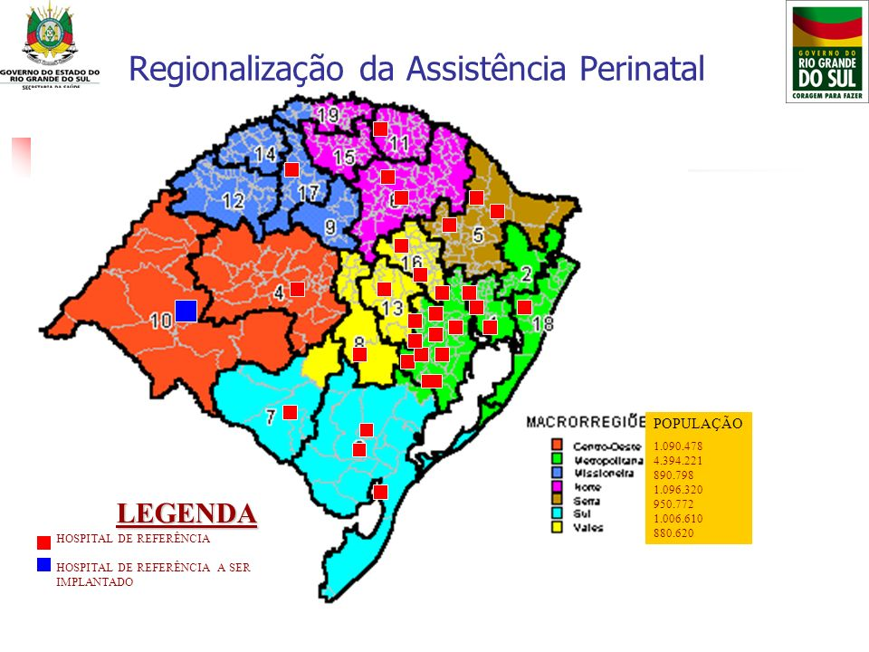 Regionalização da Assistência Perinatal