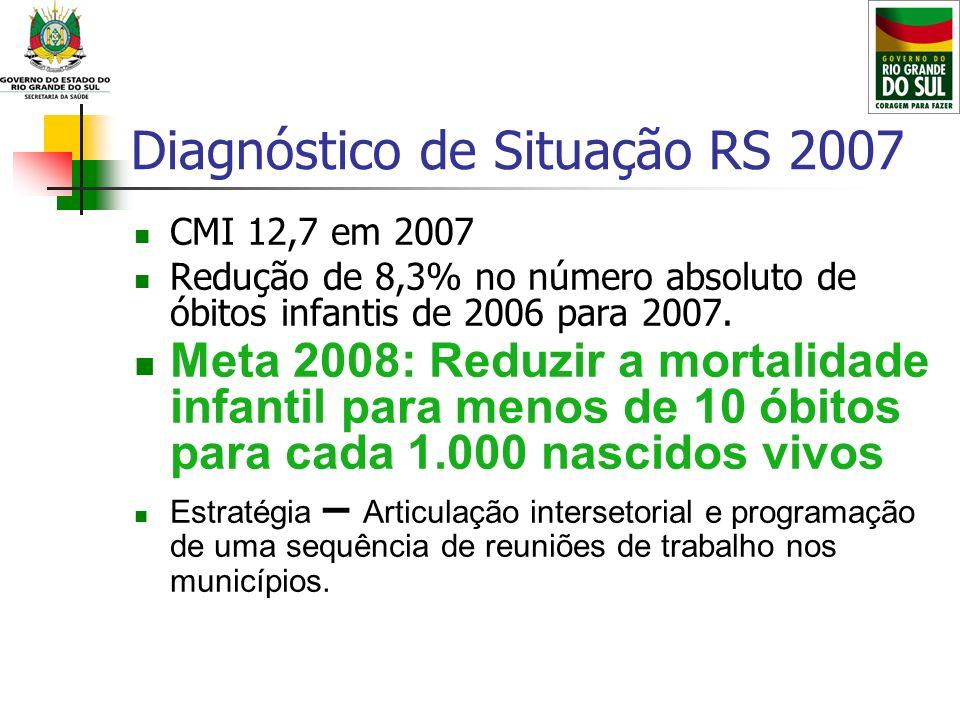 Diagnóstico de Situação RS 2007