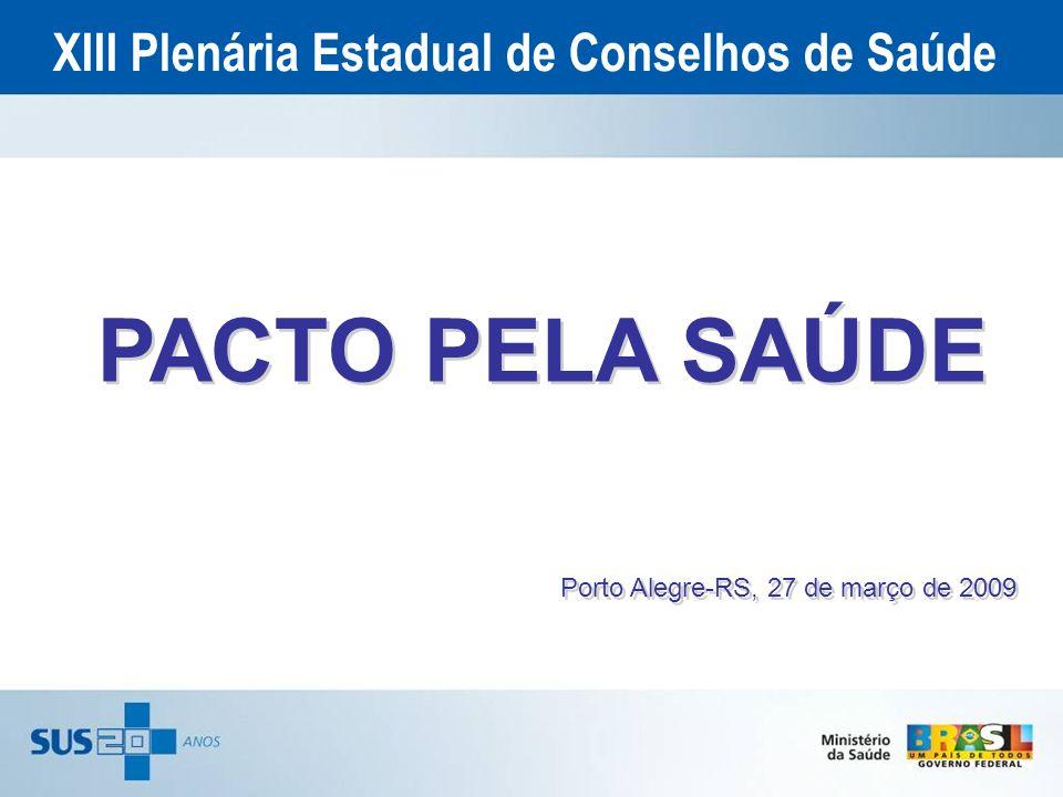 XIII Plenária Estadual de Conselhos de Saúde