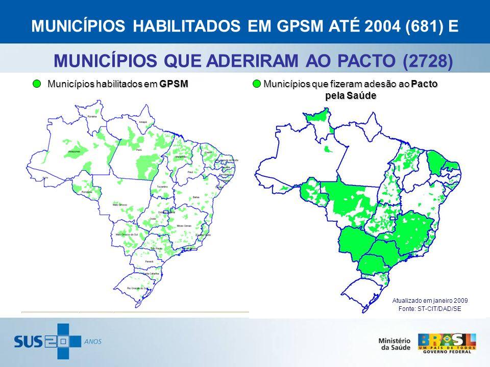 MUNICÍPIOS QUE ADERIRAM AO PACTO (2728)