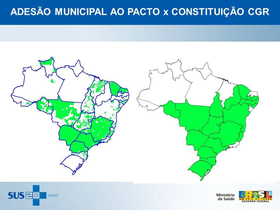 ADESÃO MUNICIPAL AO PACTO x CONSTITUIÇÃO CGR