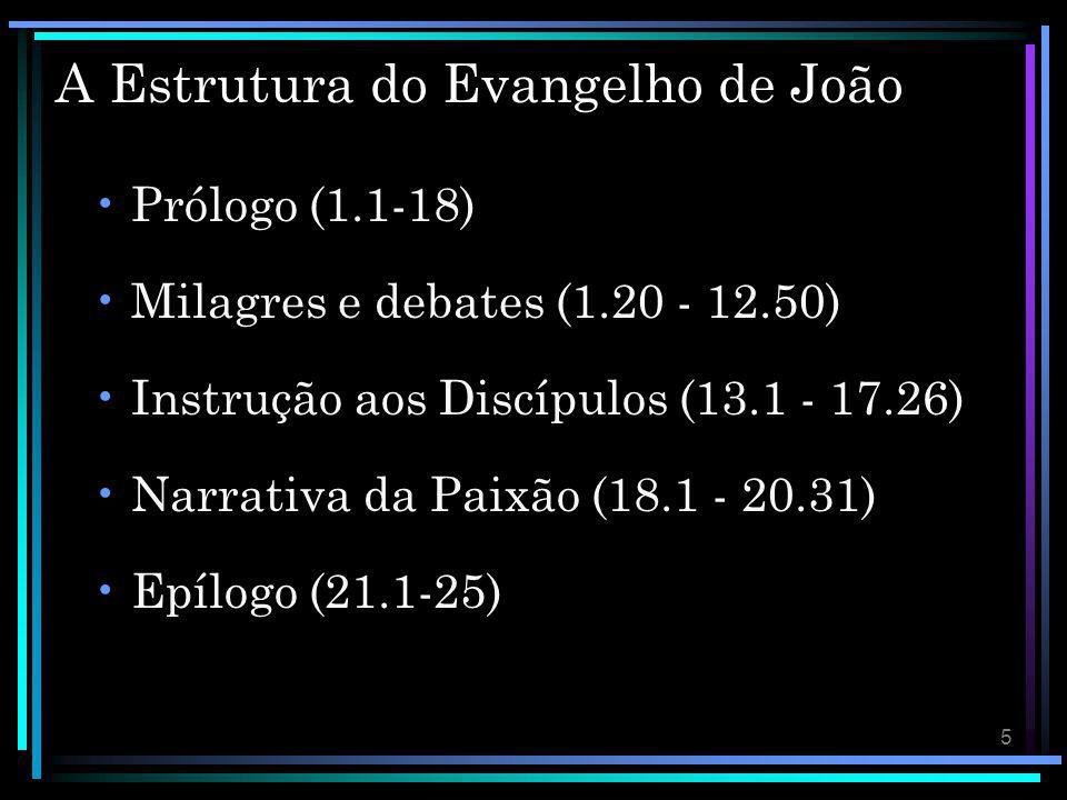 A Estrutura do Evangelho de João