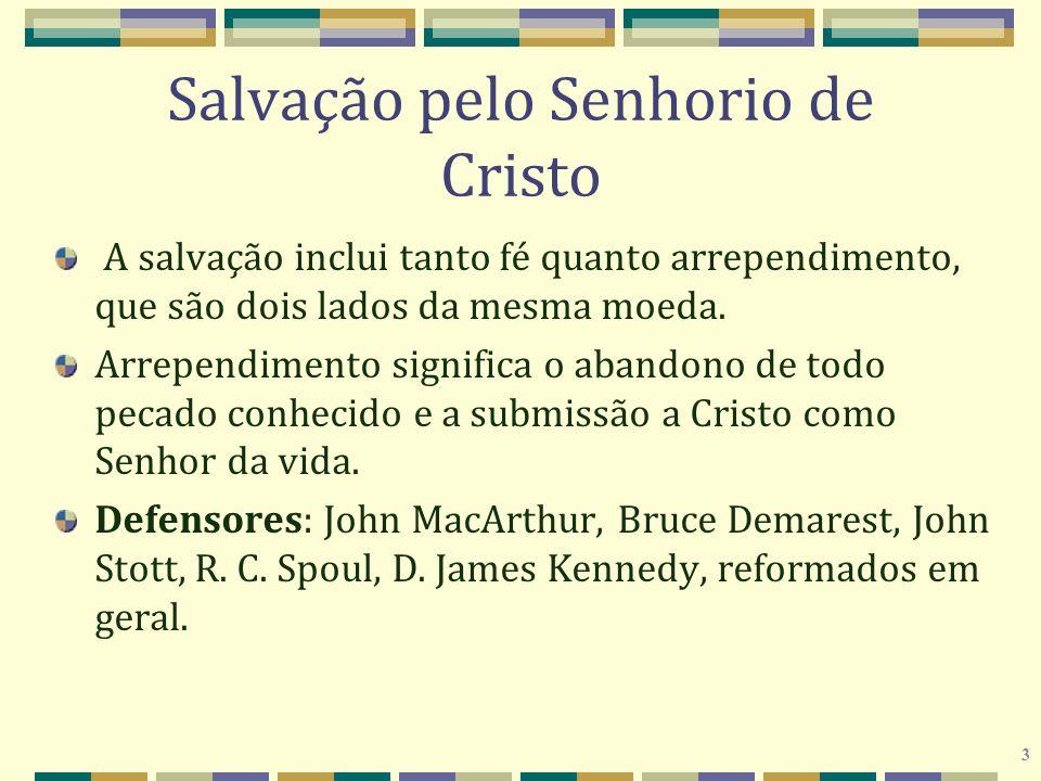 Salvação pelo Senhorio de Cristo