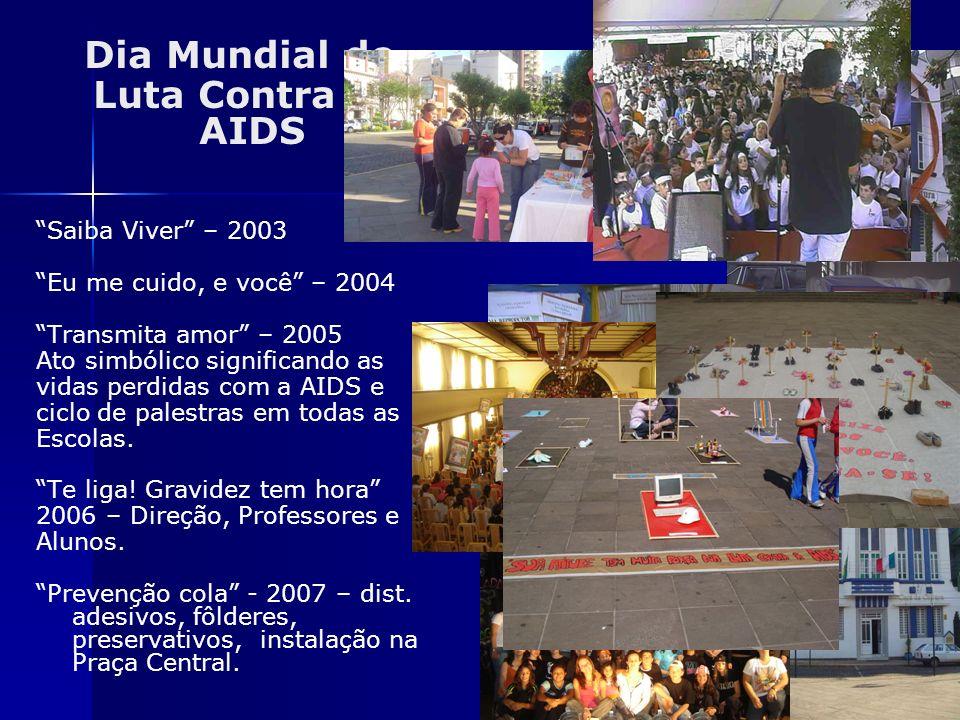Dia Mundial de Luta Contra a AIDS Saiba Viver – 2003