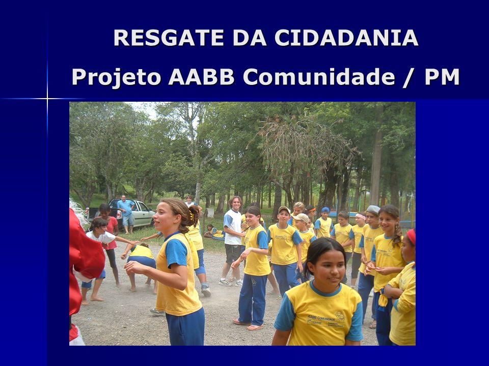 Projeto AABB Comunidade / PM