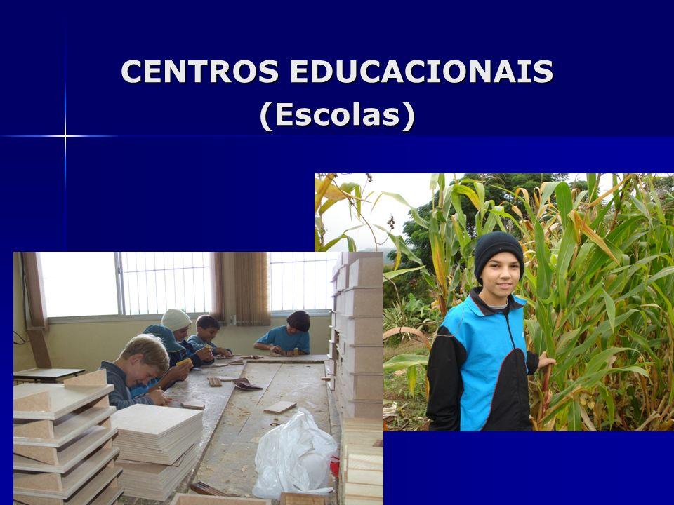 CENTROS EDUCACIONAIS (Escolas)