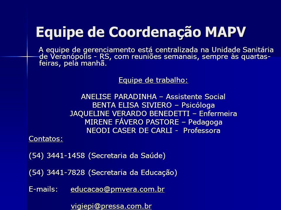 Equipe de Coordenação MAPV