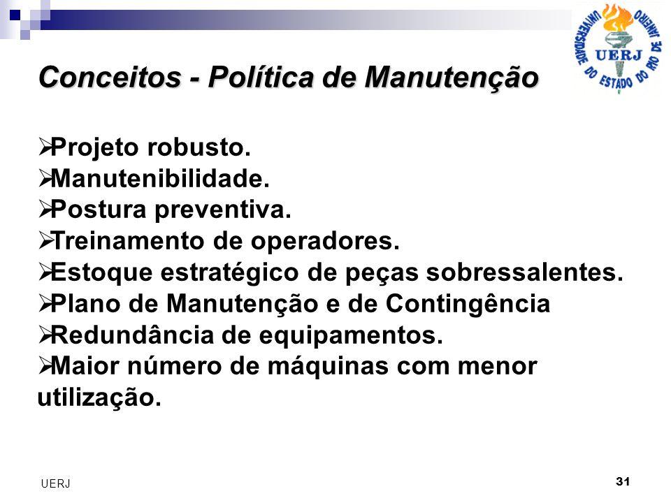 Conceitos - Política de Manutenção