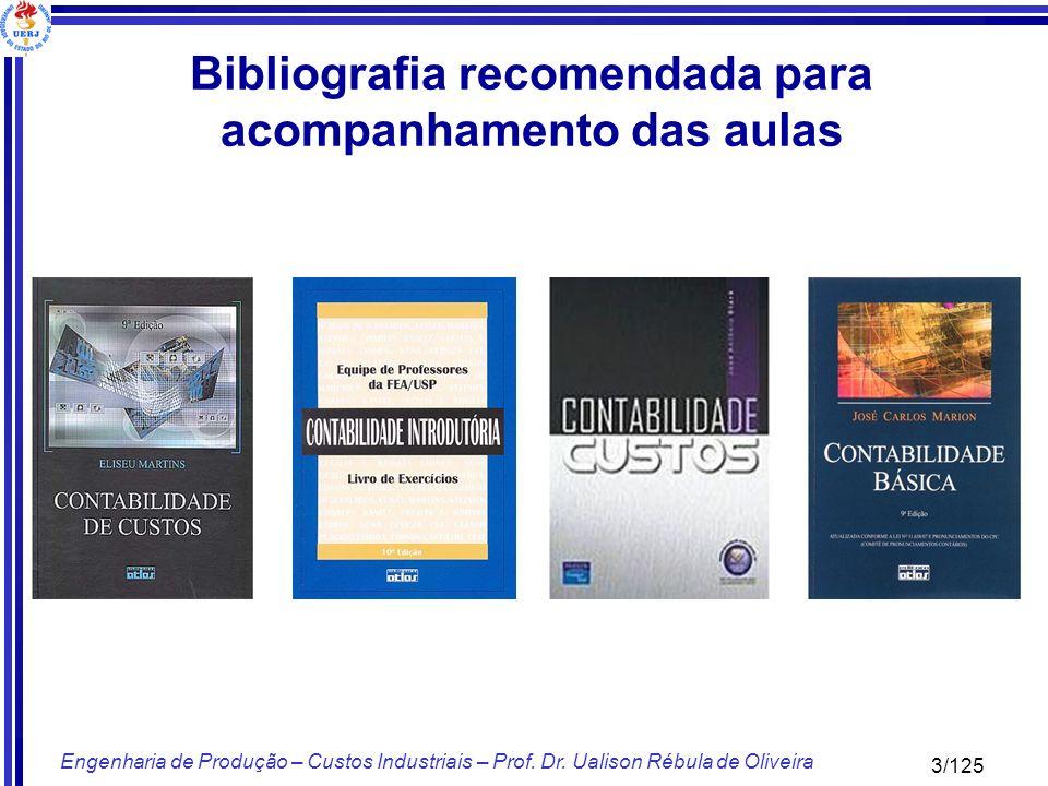 Bibliografia recomendada para acompanhamento das aulas