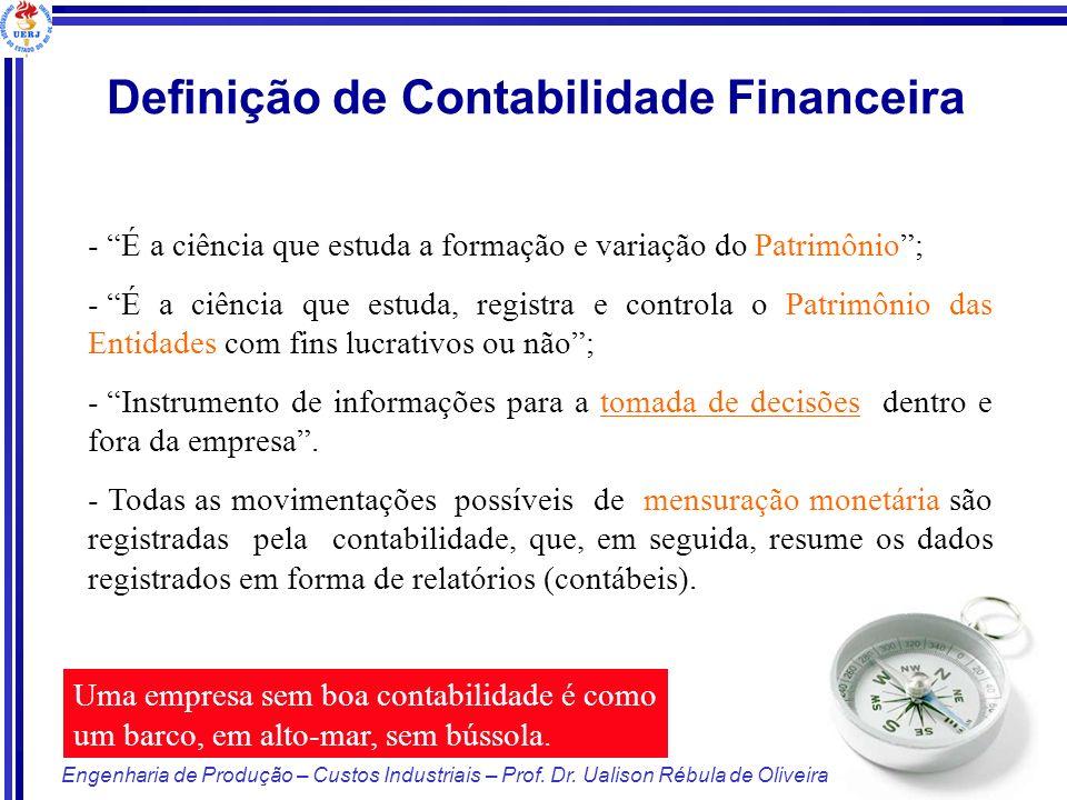 Definição de Contabilidade Financeira