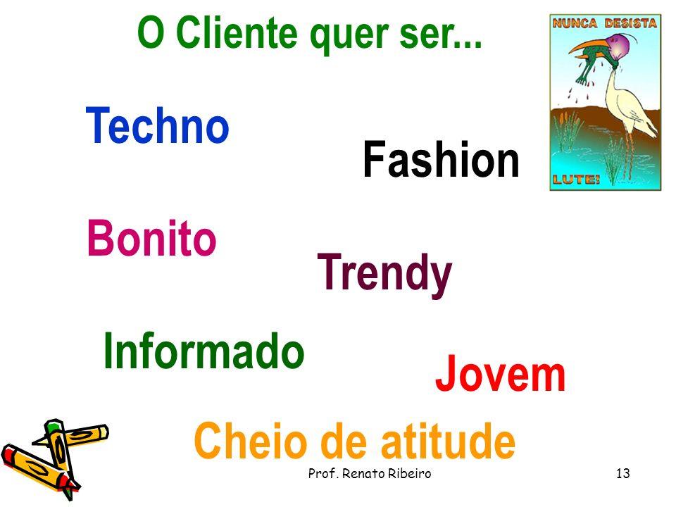 Techno Fashion Bonito Trendy Informado Jovem Cheio de atitude
