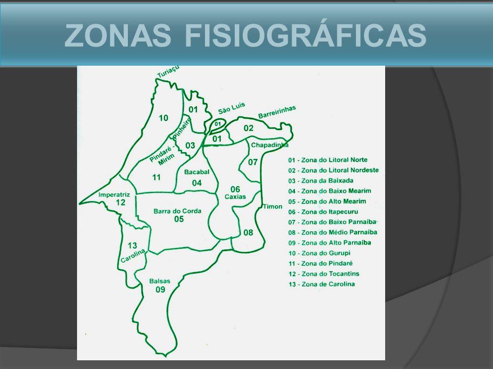ZONAS FISIOGRÁFICAS