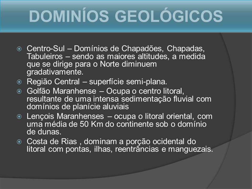 DOMINÍOS GEOLÓGICOS