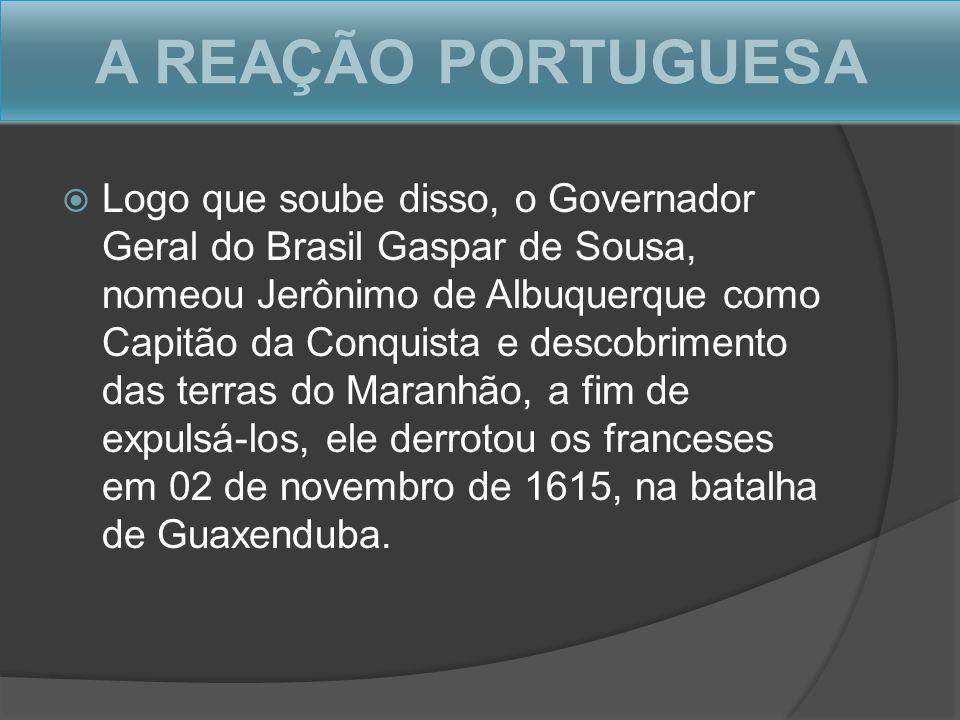 A REAÇÃO PORTUGUESA