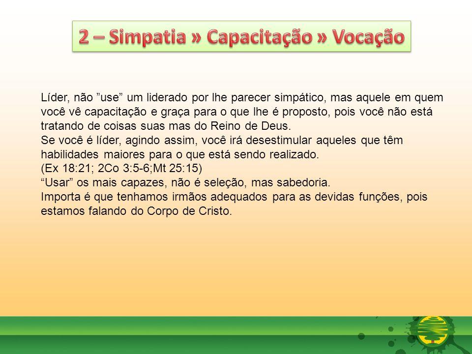 2 – Simpatia » Capacitação » Vocação