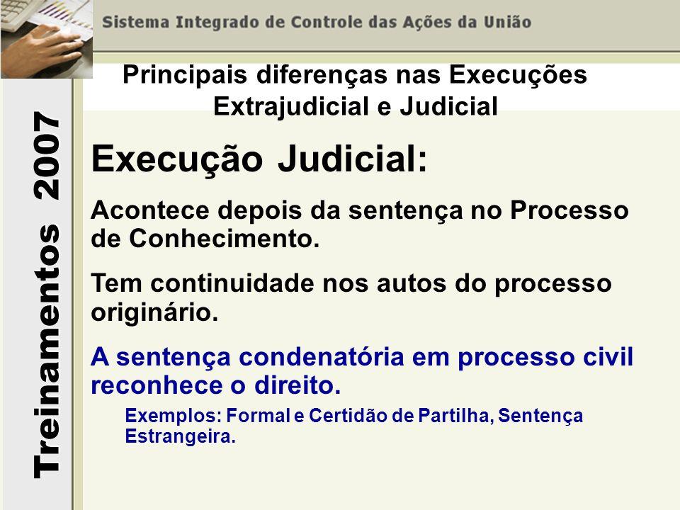 Principais diferenças nas Execuções Extrajudicial e Judicial