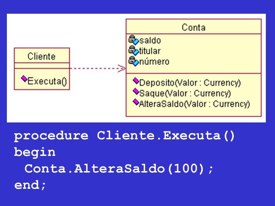 procedure Cliente.Executa()