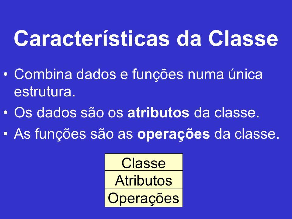 Características da Classe