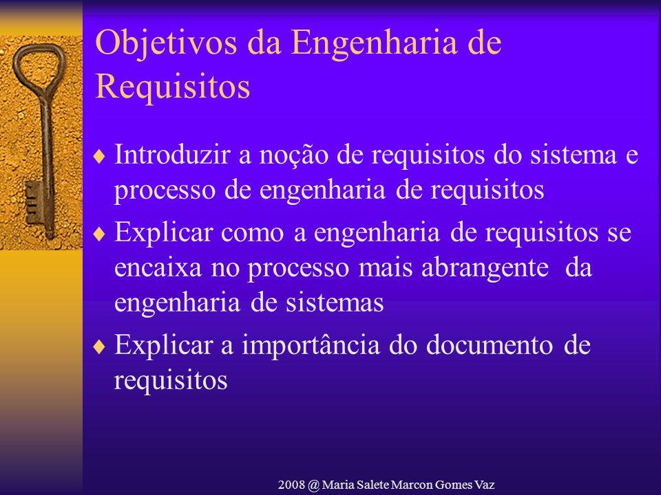 Objetivos da Engenharia de Requisitos