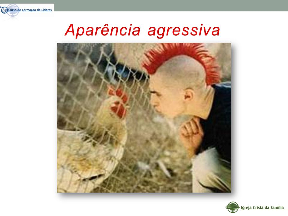 Aparência agressiva