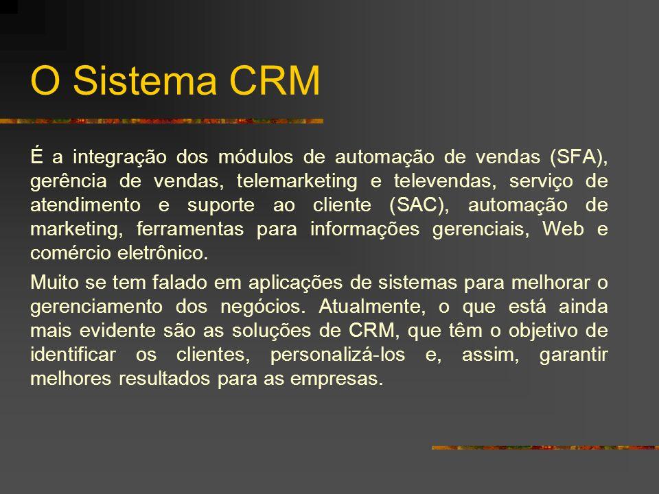 O Sistema CRM